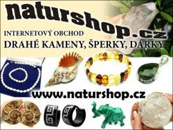 Naturshop.cz - internetový obchod na drahé kameny, šperky, dárky